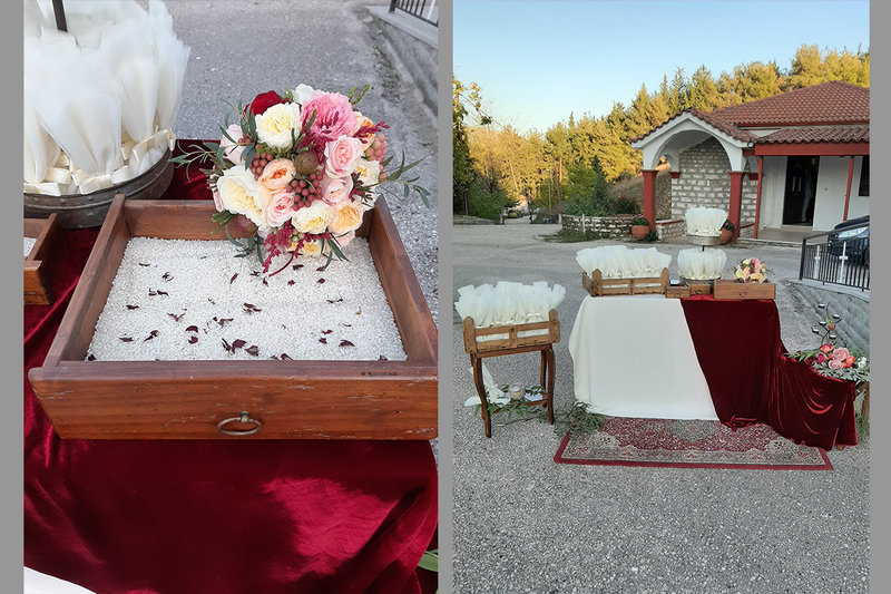 Burgundy autumn wedding!