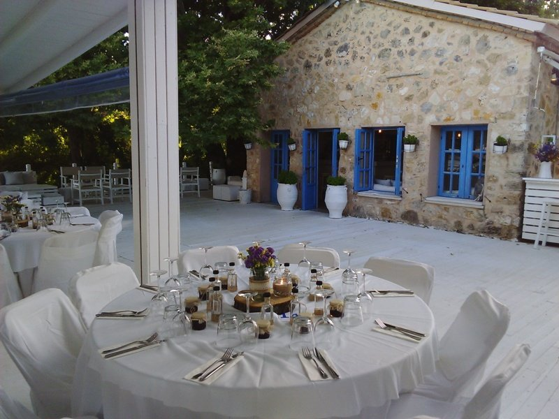 Boho wedding in Parga